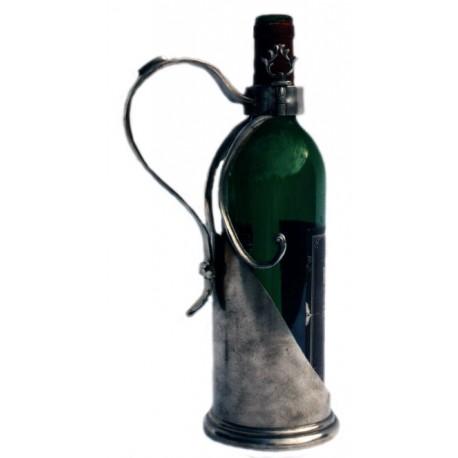 Porte bouteille avec poignée
