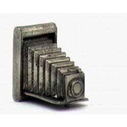 Pewter miniature camera