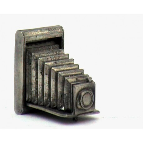 Pewter miniature camera