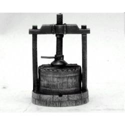 Miniature wine press
