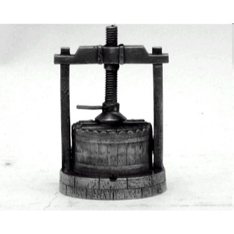 Miniature wine press