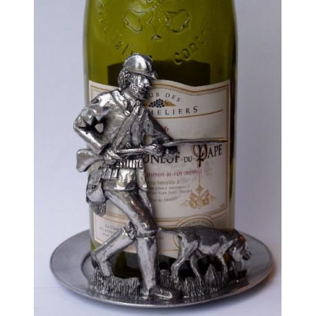 Dessous de bouteille décor chasseur
