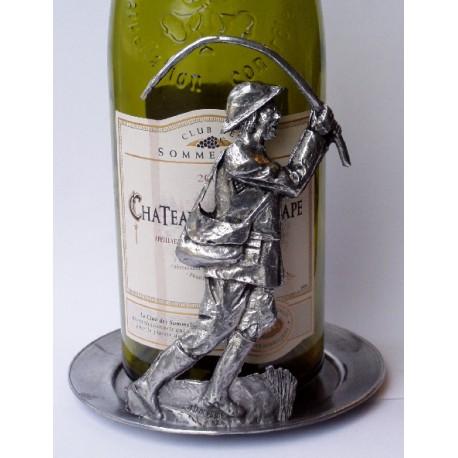 Dessous de bouteille décor pécheur