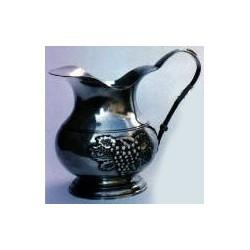 Medium pitcher with grape decor