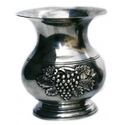 Medium vase with grape decor