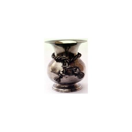 Vase décor noeud grand modèle