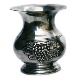 Extra large vase with grape decor