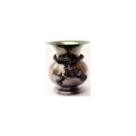 Vase décor noeud très grand modèle