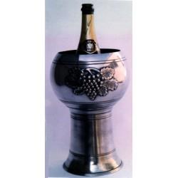 Seau à champagne décor raisin
