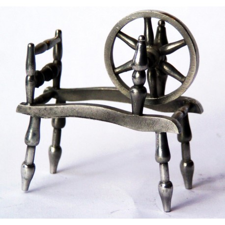 Miniature spinnng wheel