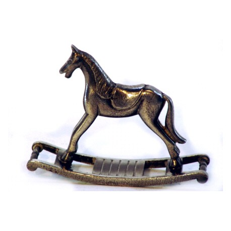 Cheval à bascule miniature