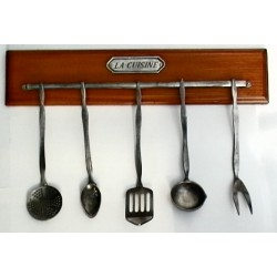Set of miniature cooking utensils