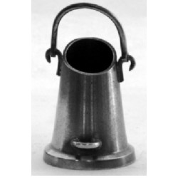 """Coal bucket"" sausage spike holder + 6 spikes"