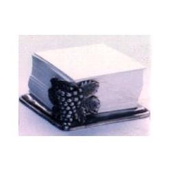 Pewter grape paper holder