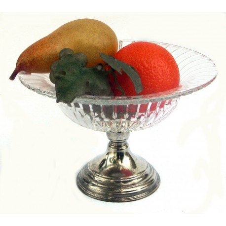 Coupe à fruit avec pied petit modèle