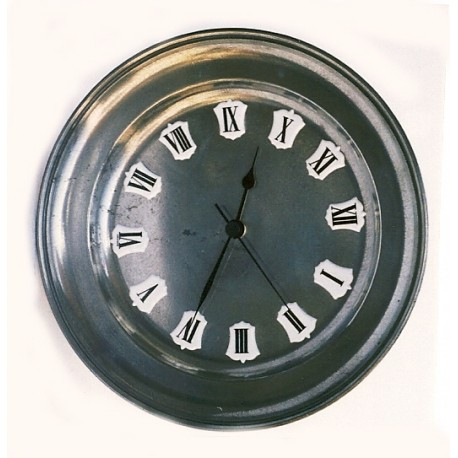 Horloge en étain