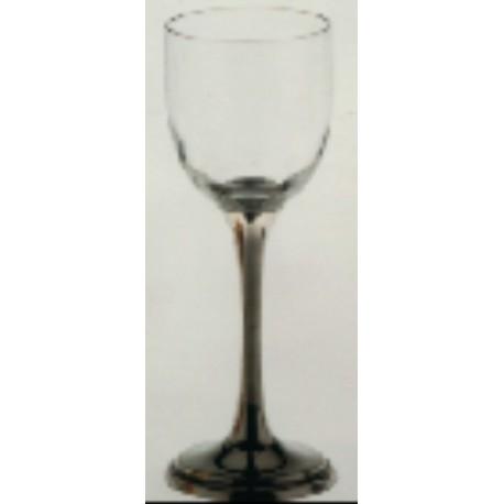 Verre à vin avec pied