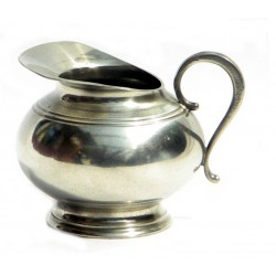 Pewter cream jug