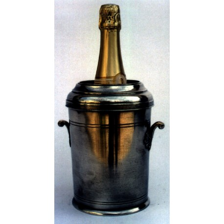 Pewter cooler with handles