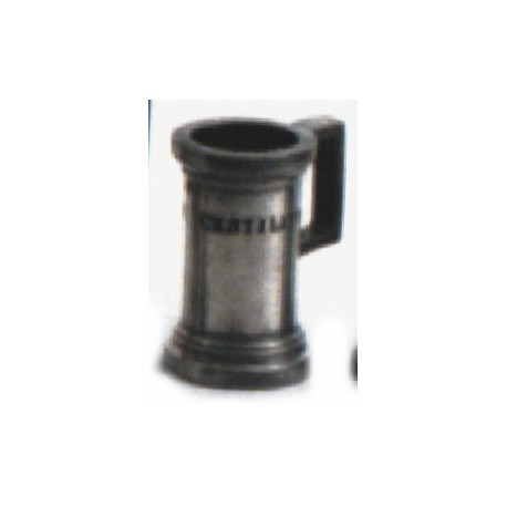 "Pewter normalised measuring jug ""Double Centiliter"""