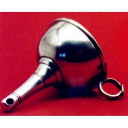 Pewter decanter funnel