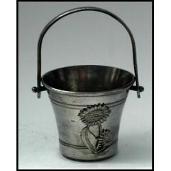 Pewter miniature bucket n°1