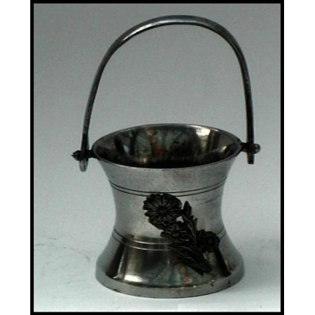 Pewter miniature bucket n°2