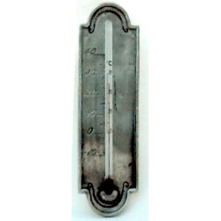 Pewter thermometer