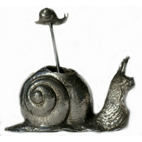 """Snail"" sausage spike holder"