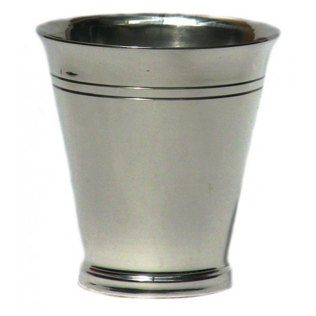 Pewter plain goblet