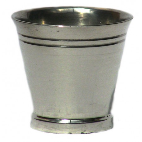 Pewter plain egg cup