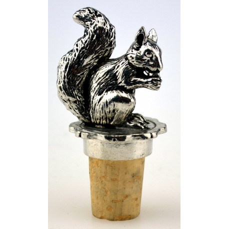 Squirrel wine cork