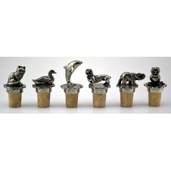 Series of 6 wine corks