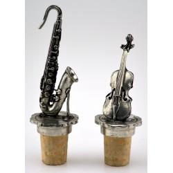 "Set of 2 ""music"" wine corks"