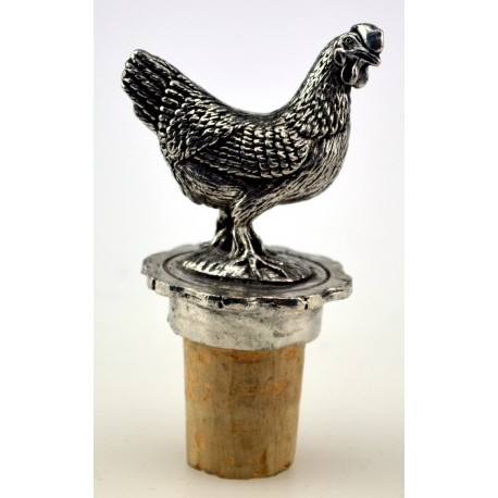 Hen wine cork
