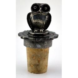 Owl wine cork