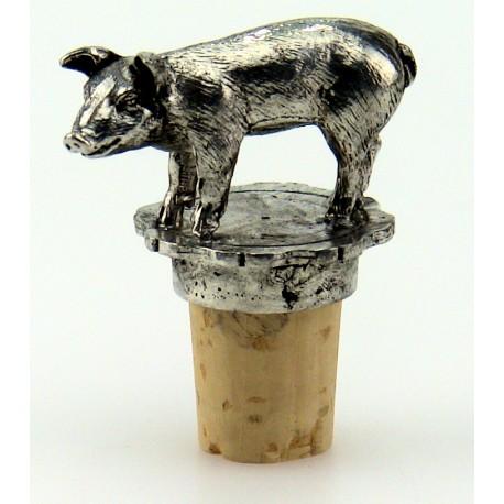 Pig wine cork