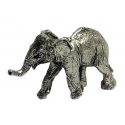 Miniature baby elephant